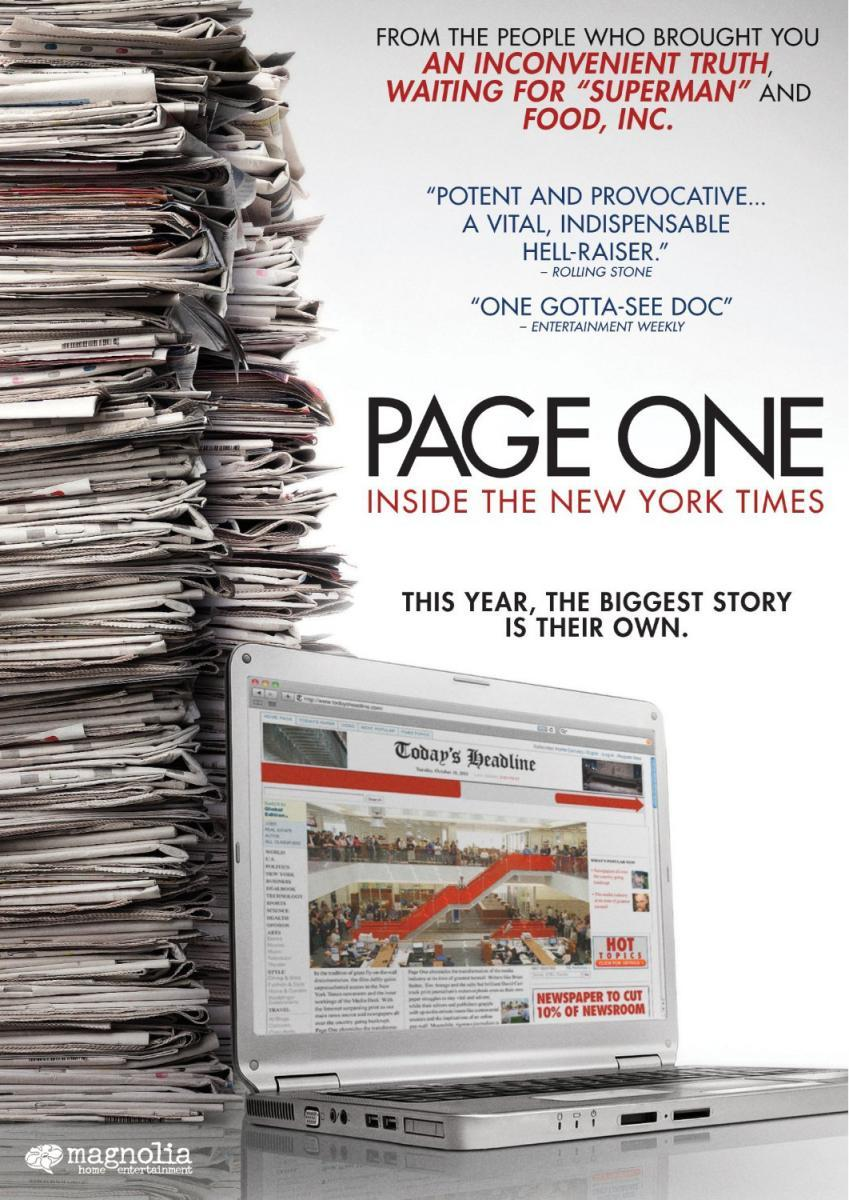 Page One: A Year Inside the New York Times – review