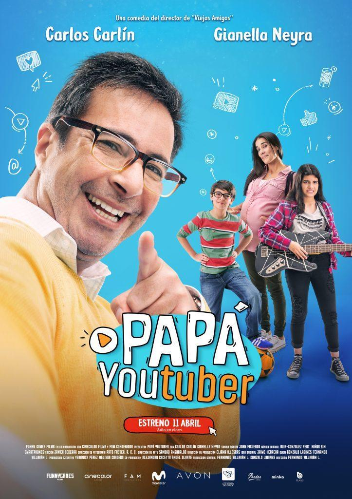 Papá youtuber [2019][Español Argen][1080p][MEGA]