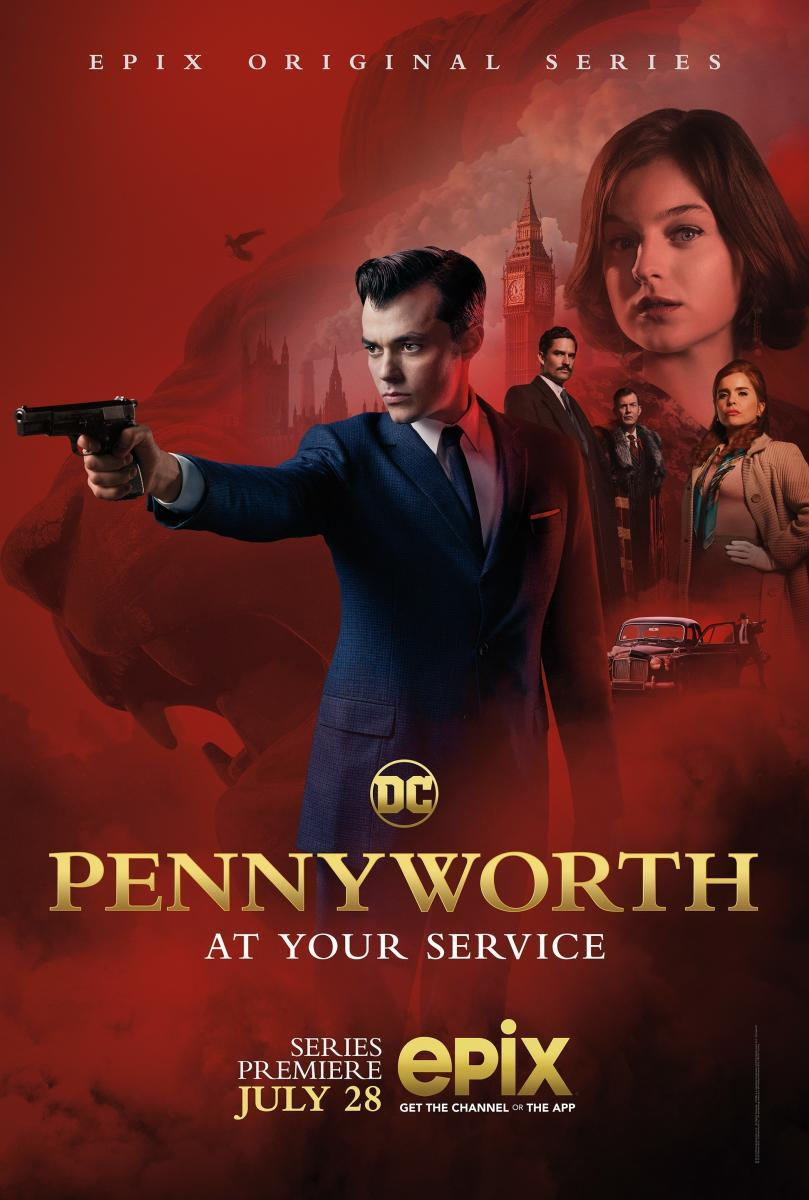 Pennyworth (TV Series)  [2018][Inglés Sub Es][720p][Mega]
