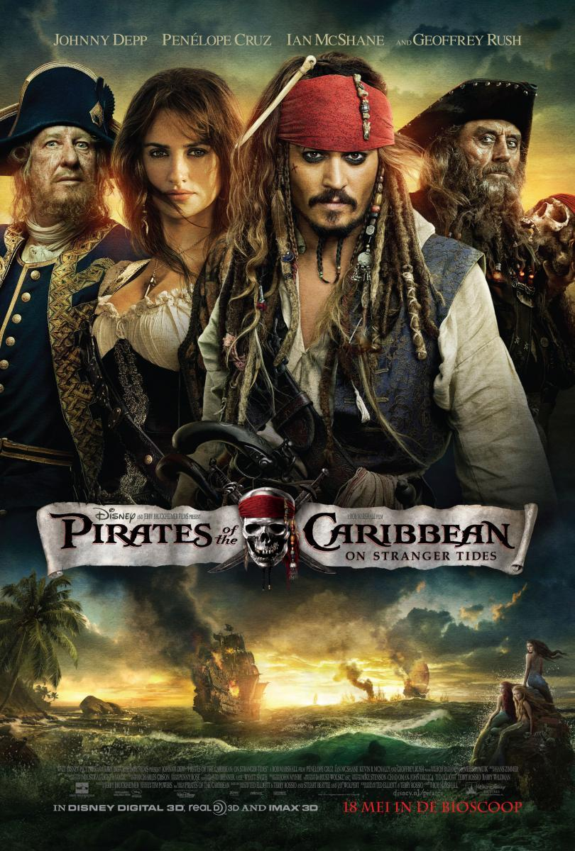 Imagen Piratas del Caribe: navegando aguas misteriosas (2011)