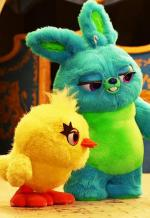 Pixar Popcorn: Fluffy Stuff with Ducky and Bunny: Three Heads (S)