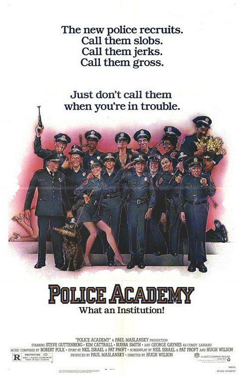 Saga – Loca academia de policía [1984 Hasta 1994] [1080p] [Latino-Ingles] [GD]