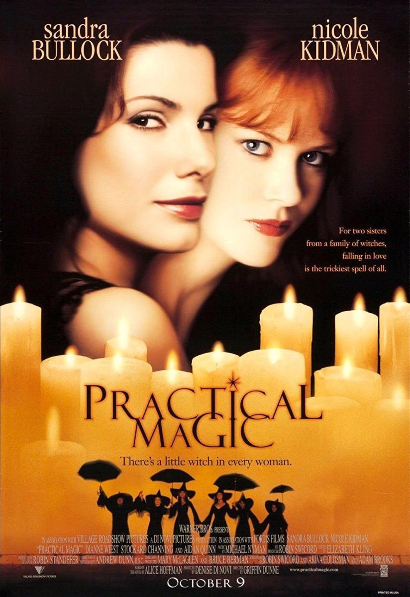 póster de la película de fantasía Prácticamente magia