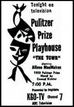 Pulitzer Prize Playhouse (TV Series) (Serie de TV)