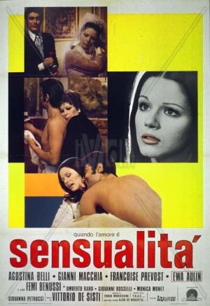 Quando l'amore è sensualità