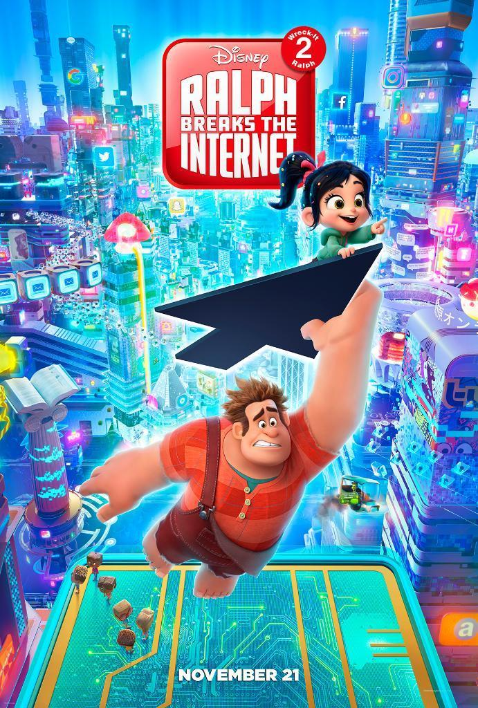 Últimas películas que has visto - (Las votaciones de la liga en el primer post) - Página 3 Ralph_breaks_the_internet-862794954-large