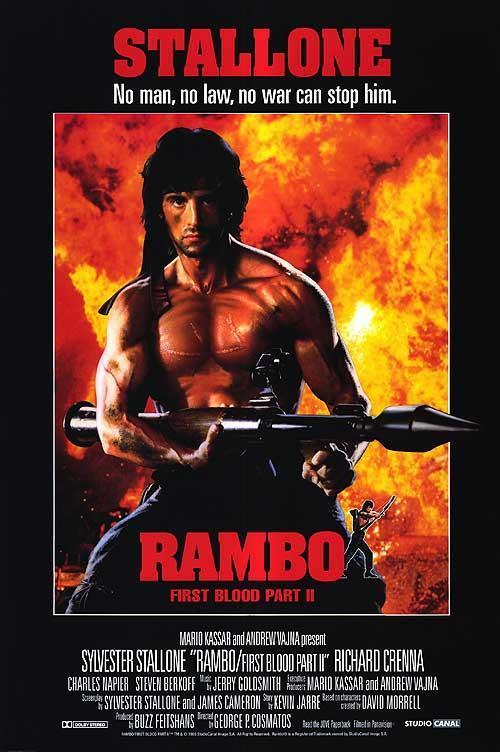 Rambo 2 [1080p] [Latino-Ingles] [MEGA]