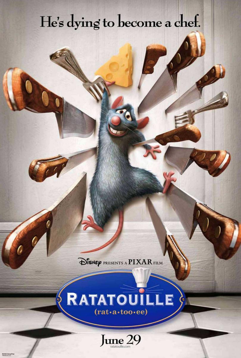 Ratatouille (2007) [1080p] [Latino] [MEGA]