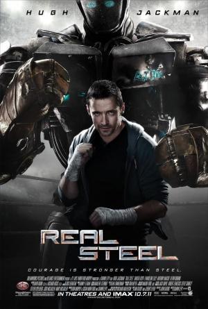 póster de la película de ciencia ficción Acero puro