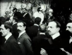 Réception de sa majesté Alphonse XIII à Barcelone (C)