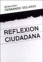 Reflexión ciudadana (S)