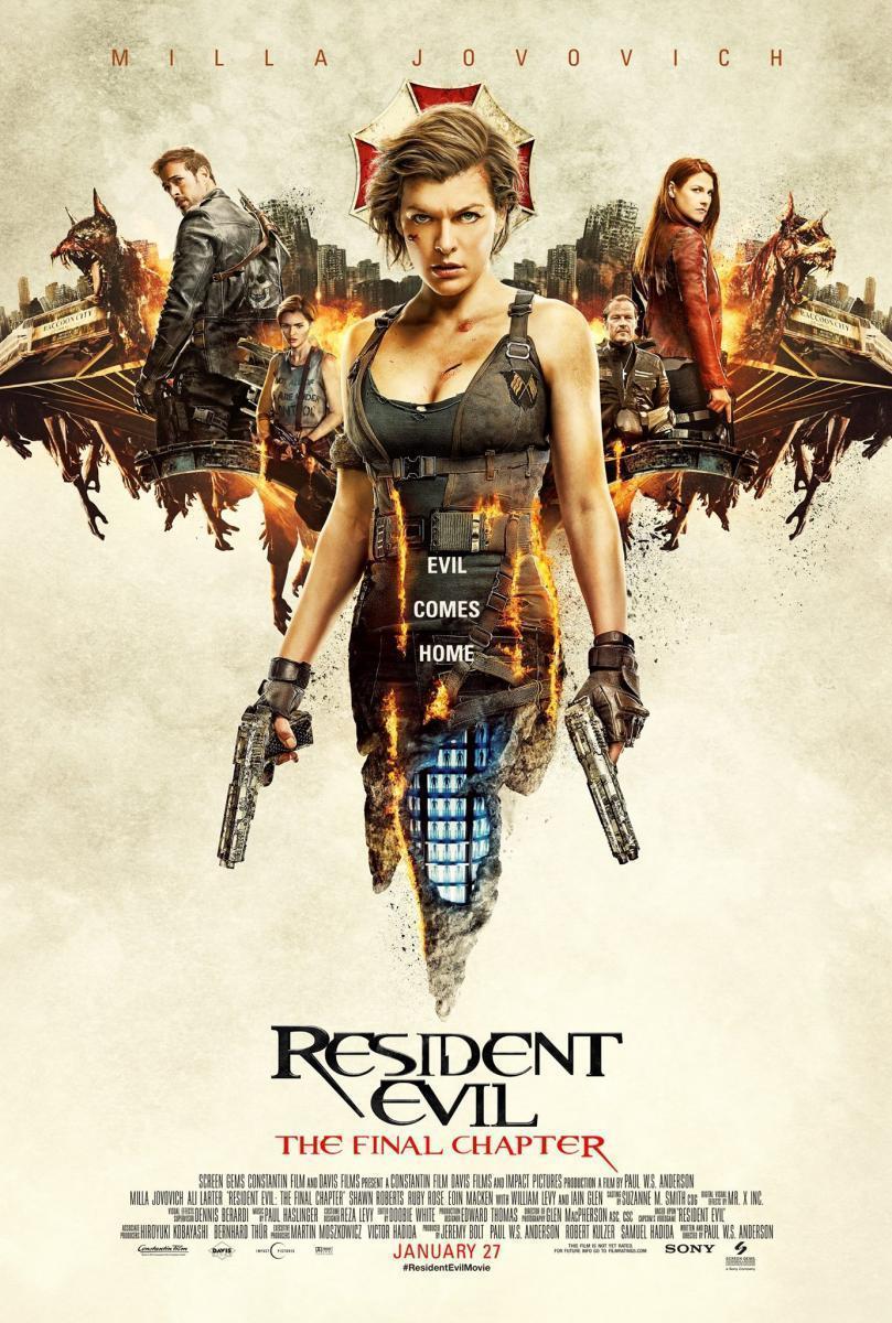 Resident Evil El capítulo final Latino/Subtitulado 2017