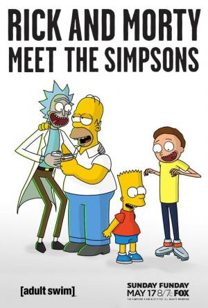 Rick y Morty: Simpsons Couch Gag (S)