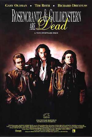 rosencrantz and guildenstern and dead Based on tom stoppard's play, this erudite comedy rethinks hamlet by telling the story of two of its least important characters the duo debates the theory of.