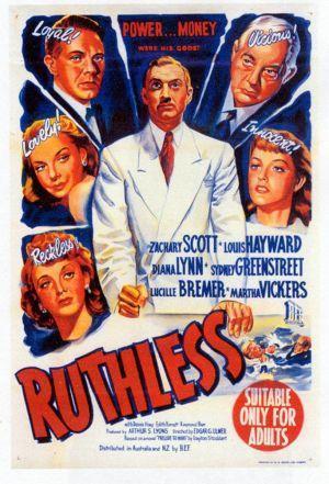 Últimas películas que has visto (las votaciones de la liga en el primer post) - Página 20 Ruthless-579781548-large