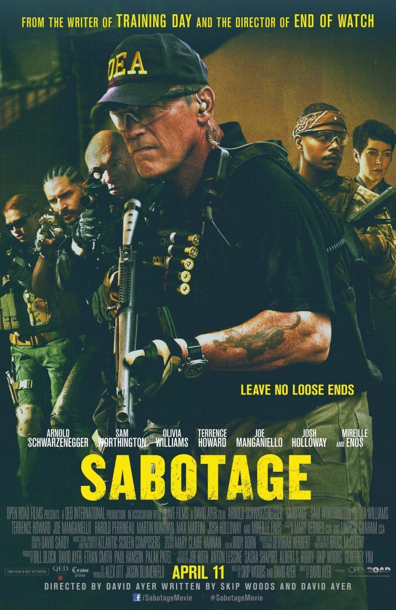 El Sabotaje (2014) [1080p] [Latino] [MEGA]