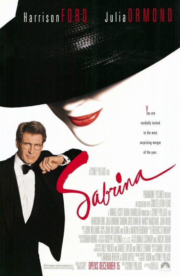 póster de la película romántica Sabrina y sus amores