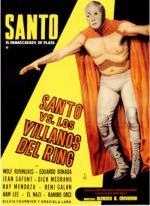 Santo el enmascarado de plata vs. los villanos del ring