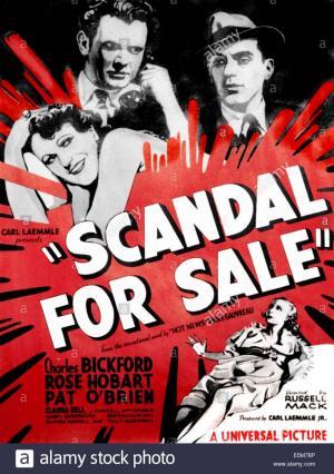 Mercado de escándalos