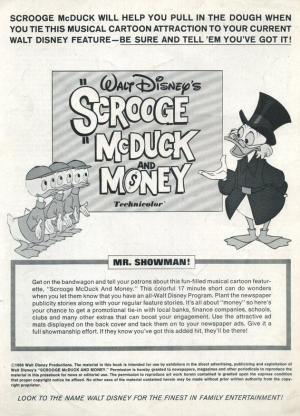Scrooge McDuck and Money (S)