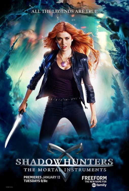 Shadowhunters: The Mortal Instruments (Serie de TV) [1080p] [Español Latino] [MEGA], 2 Temporadas