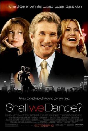 póster de la película cómica ¿Bailamos?