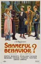 Shameful Behavior?