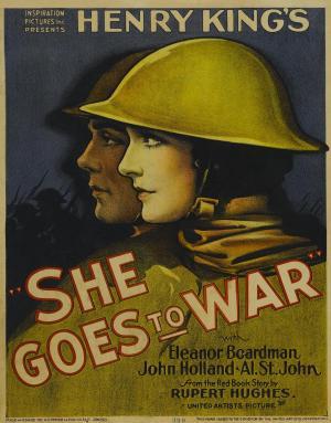 Ella se va a la guerra