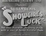 Showgirl's Luck
