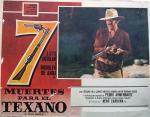 Siete muertes para el texano