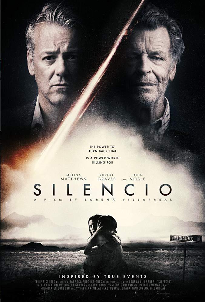 Silencio, póster oficial