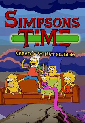 Simpsons Time Couch Gag (TV) (S)