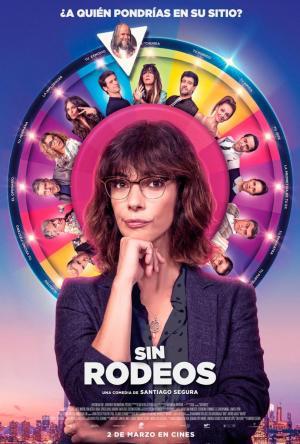 póster de la película de comedia española Sin rodeos