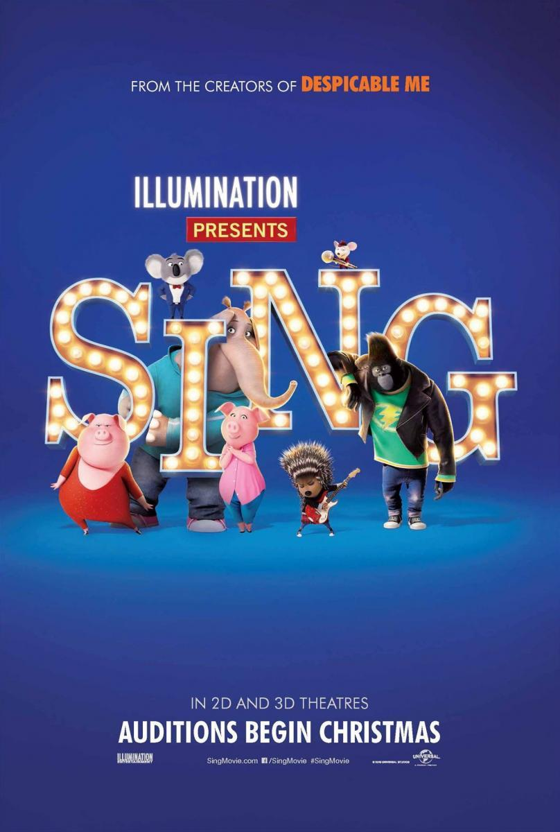Sing: ¡Ven y Canta! (BRRip Latino – Ingles – Castellano 1080p) 2016