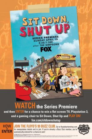 Sit Down, Shut Up (Serie de TV)