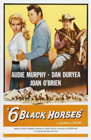 Seis caballos negros
