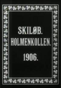 Skiløb. Holmenkollen (S)