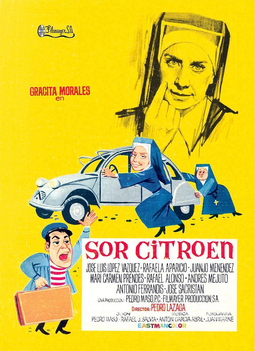 Cartel de la película Sor Citroen (1967).