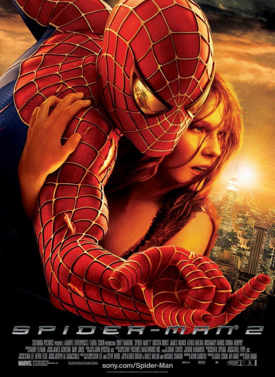 El hombre araña 2 [2004], [1080p] [Dual – Latino] [MEGA]