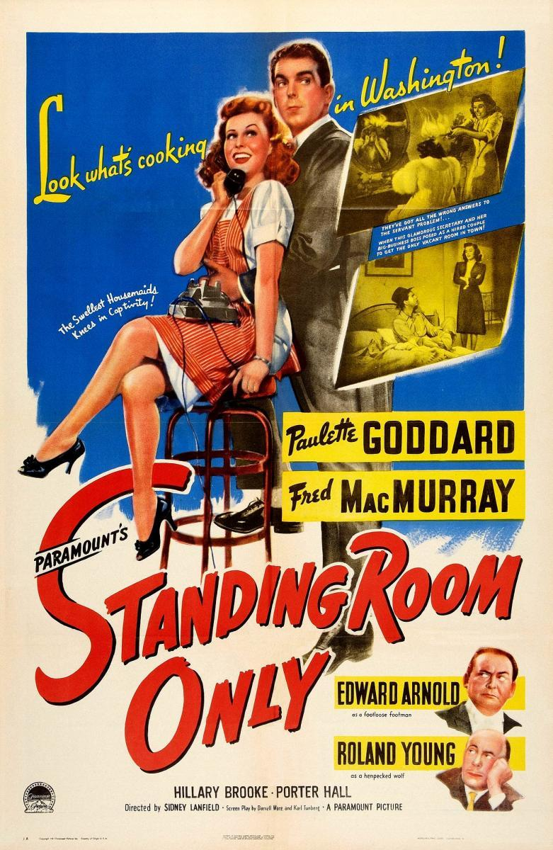 Standing Room Only 1944 Filmaffinity