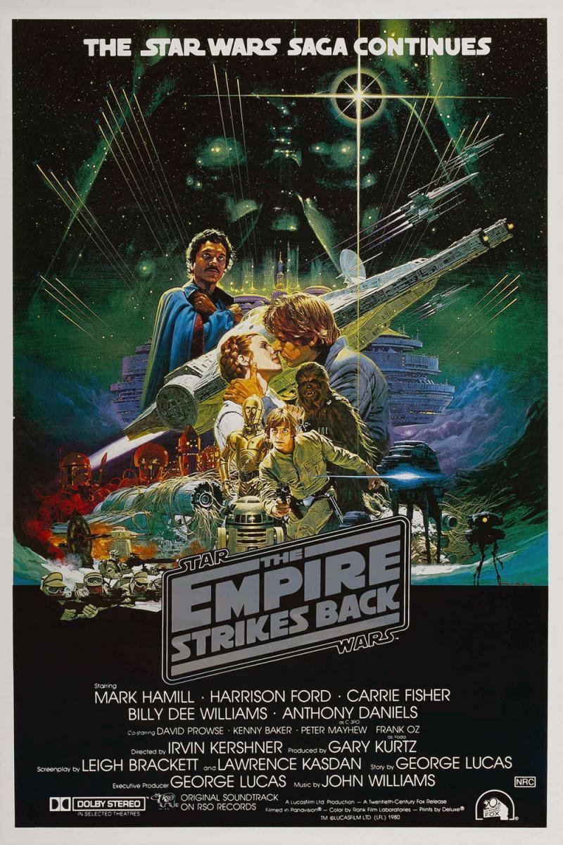 Star Wars Episodio V: El Imperio Contraataca (BRRip Latino – Ingles – Castellano 720p) 1980