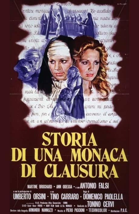 Historia de una monja de clausura 1973 filmaffinity for Piani di una palazzina di una storia