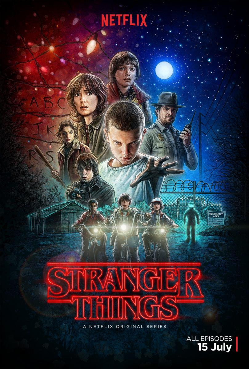 Stranger Things Temporada 1 (HD Latino – Ingles 720p) 2016