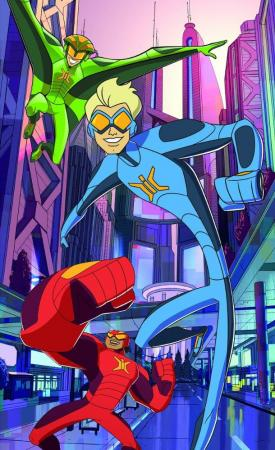 Stretch Armstrong & the Flex Fighters (Serie de TV)