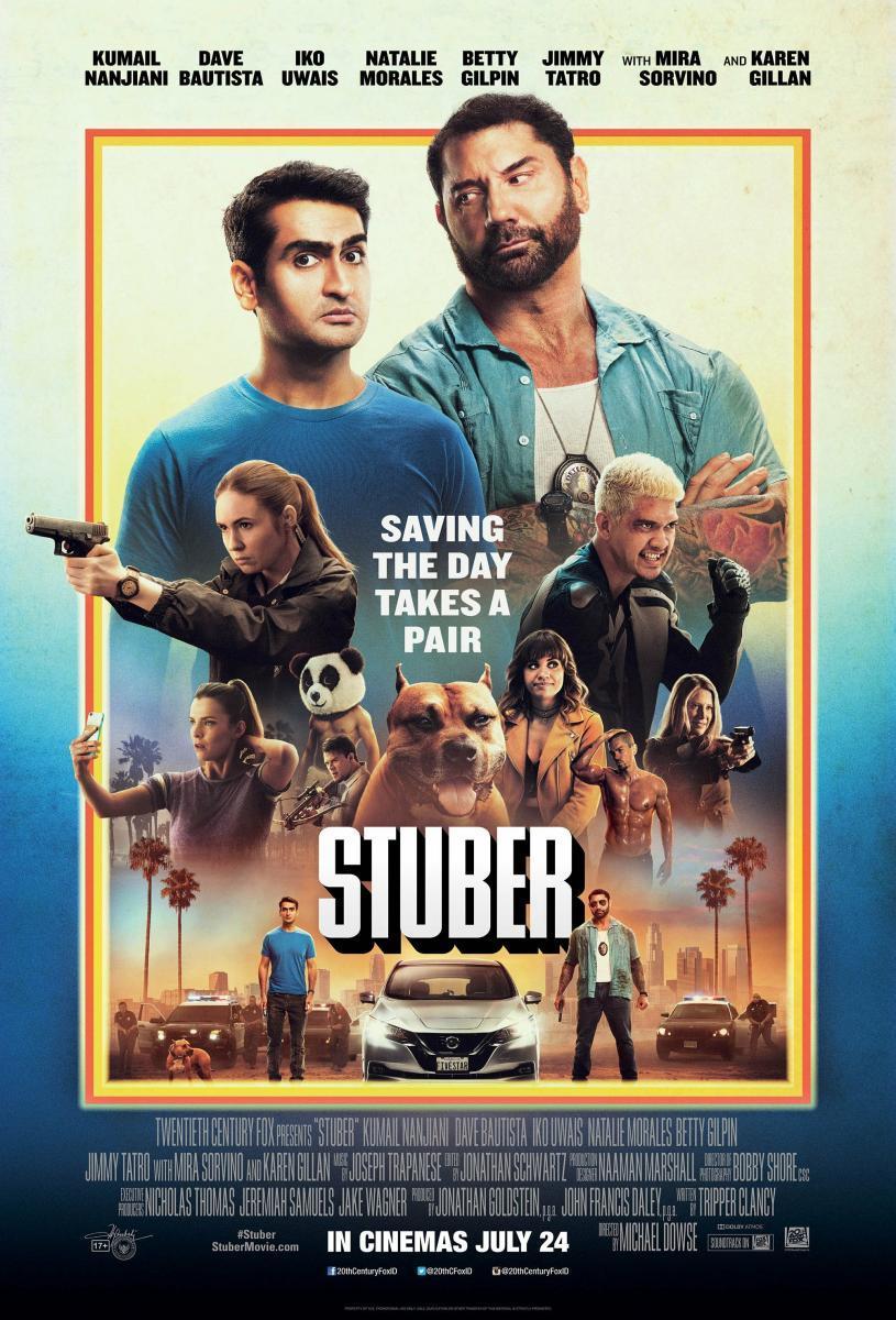 Stuber Express [2019][Latino][1080p][MEGA]