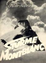 Stürme über dem Montblanc
