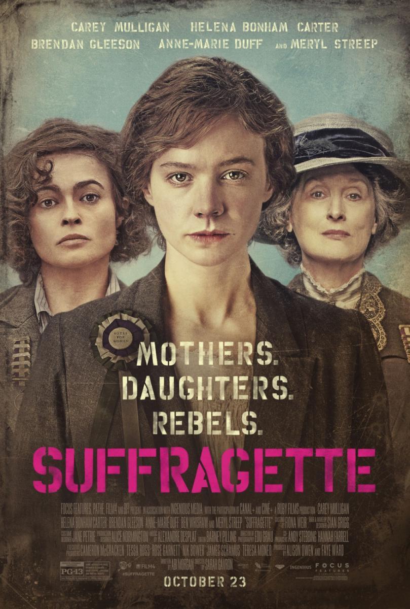 Resultado de imagen de suffragette, PELICULA