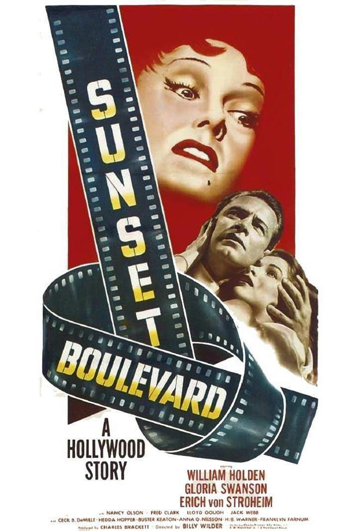 Image result for Sunset Boulevard 1950