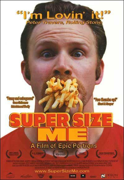 super size me movie essay This essay was produced by one of our professional his health because it is impossible to sell a movie about eating fast of super size me.