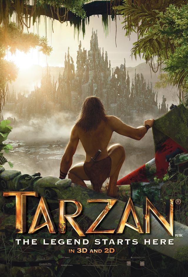 Tarzán: La evolución De La Leyenda [2013][Español Latino] [1080p][1fichier]
